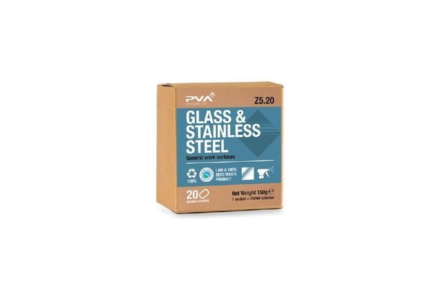 Glass and Stainless Steel